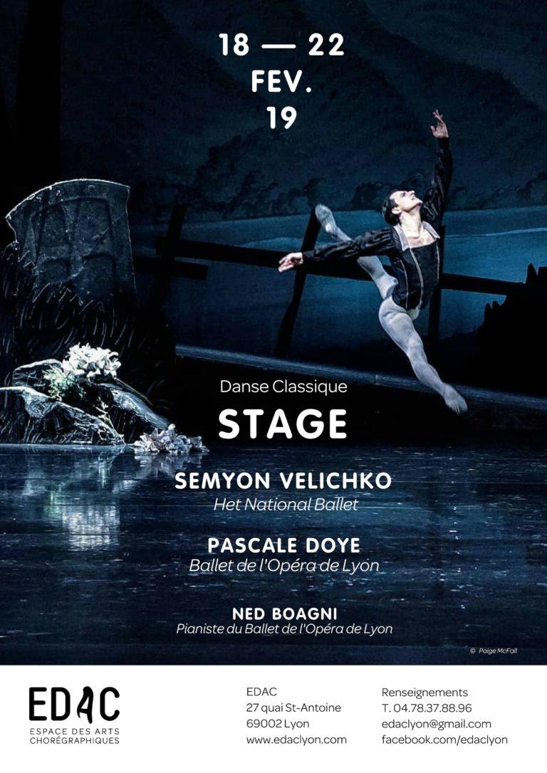 Stage de danse Semyon Velichko