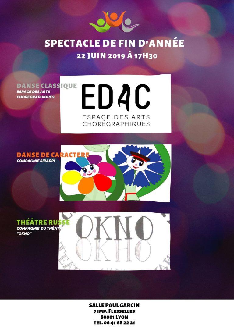 Spectacle école de danse classique Lyon. 22 juin 2019 à 17h30 Lyon, Salle Paul Garcin