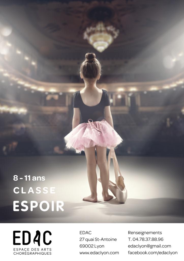 Location studio de danse Danse classique, école de danse, Classe espoir, Lyon, 8-11 ans Inscription Opéra de Lyon