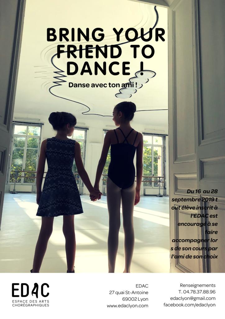 Cours de danse gratuit danse classique EDAC Lyon école de danse à Lyon
