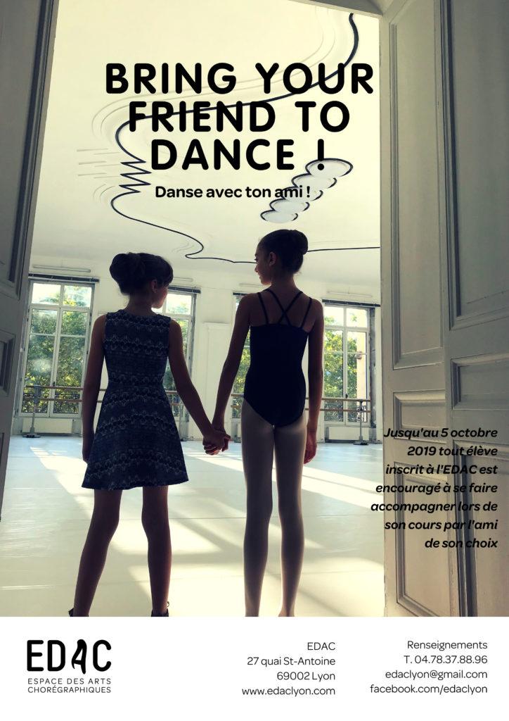 cours de danse classique gratuits Lyon EDAC Lyon