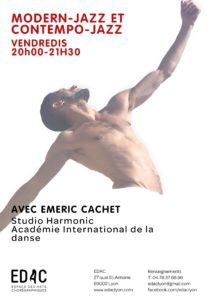 Modern Jazz Contempo Jazz école de danse lyon EDAC cours de jazz
