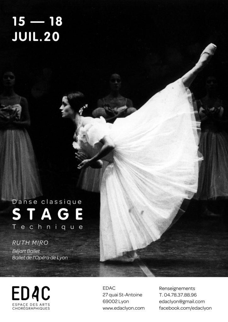 Danse classique Stage de danse classique à Lyon