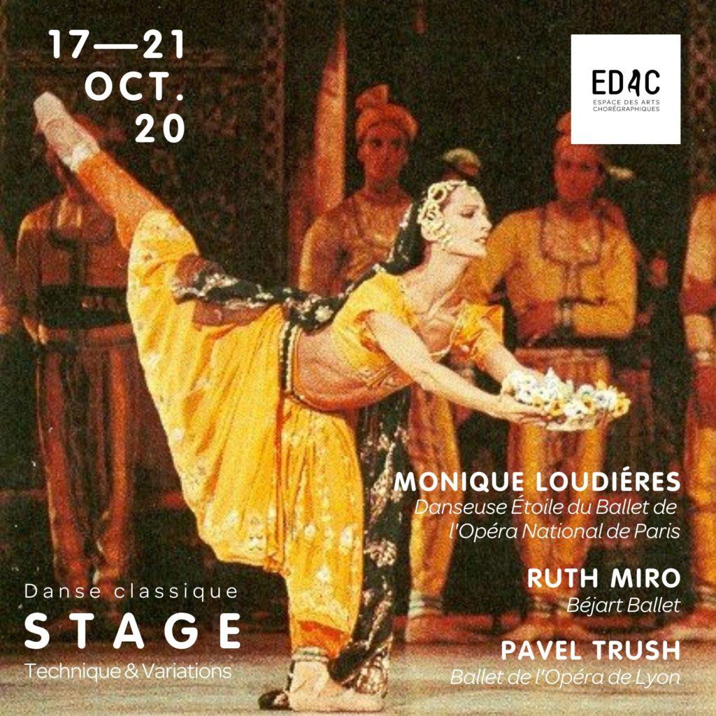 Danse classique Stage de danse Monique Loudiéres Opéra de Paris école de danse Lyon