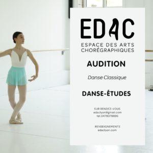 Danse classique ballet Sport-Étude danse-études lyon étudier danser
