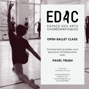 entrainement quotidien du danseur classique téchnique cours de danse ballet class