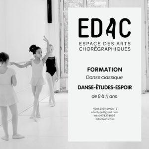 danse classique danse-études primaires cours de danse école de danse à lyon conservatoire