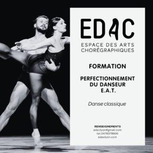 ormation professionelle, Danse classique, E.A.T. Perfectionnement du danseur, Lyon, E.R.D. école de danse cours de danse classique
