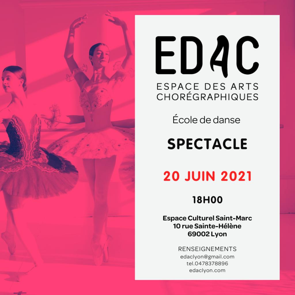 gala de fin d'année spectacle de fin d'année école de danse à lyon cours de danse classique contemporain jazz modern-jazz formation danse-études leçons de danse chorégraphie entrainement